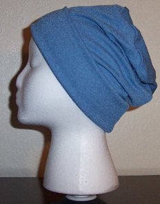 Wedgwood Blue Slinky Roll-brim Hat